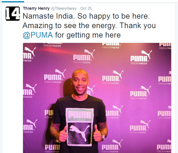 Henry at Indian super league
